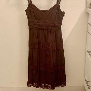 BCBGMaxAzria Dresses - BCBG MaxAzria Brown Dress